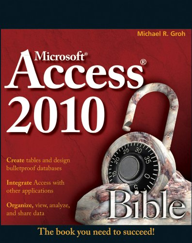 Access 2010 Bible (2010 Access Software compare prices)