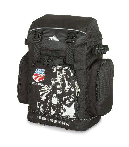 7720d7d33f High Sierra Ski Team Boot Backpack Ski Bag, Black | Ado Duffel Bag