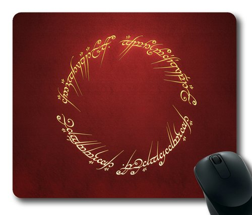 Lord Of The Rings Rectangle Mouse Pad By Sakuraelieechyan front-136002