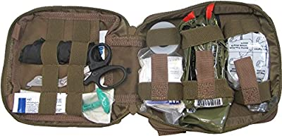 Tactical First Aid Kit: First Aid Kit By Renegade Survival for Camping and Hiking or Home and Workplace. It Is a Ifak Level #1 Drop Leg First Aid Kit for the Prepper Who Wants Tactical Gear for Trauma or to Use Case Case of a Natural Disaster or Outdoor S