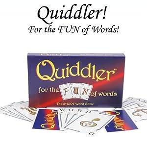Quiddler Card Game W/2 Free Cut Cards