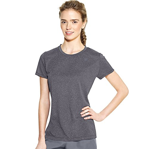 Champion Women's Powertrain Heather Tee, Granite Heather, X-Small (Powertrain Champion compare prices)