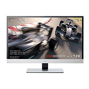 AOC I2757FM 68,6 cm (27 Zoll) Monitor (VGA, HDMI, 5ms Reaktionszeit) silber-schwarz