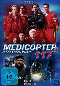 Medicopter 117 - Staffel 1 Folge 01-08 [3 Disc Set]