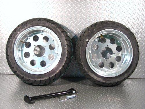 モンキー/ゴリラ 10インチアルミホイールF3.50J/R4.50J&タイヤセット【NO06】