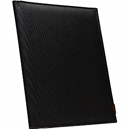 Case-it Executive Padfolio with Letter Size Writing Pad, Black, PAD-10