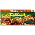 Nature Valley Granola Bars Mega Pack, Oats 'N Honey Crunchy, 18-Count Box Reviews