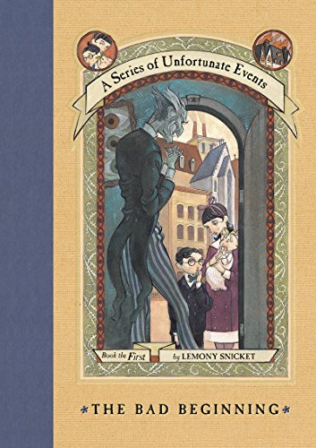 The Bad Beginning (A Series Of Unfortunate Events #1) front-1013418