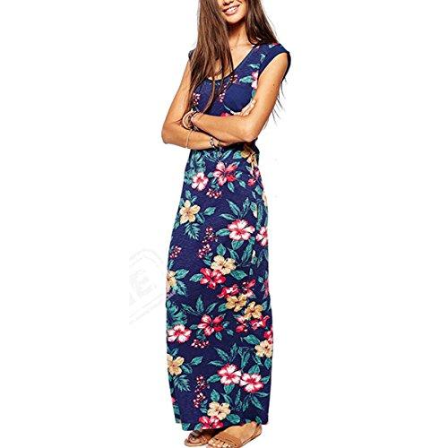 vestido hawaiano de flores