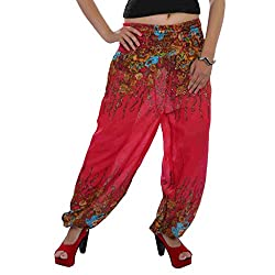 Indi Bargain Rayon Womens Harem Trouser - (IBLS026)