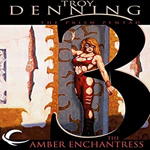 The Amber Enchantress: Dungeons & Dragons: Dark Sun: Prism Pentad, Book 3 | [Troy Denning]