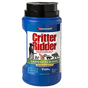 Havahart Critter Ridder 3146 Animal Repellent, 5-Pounds Granular Shaker