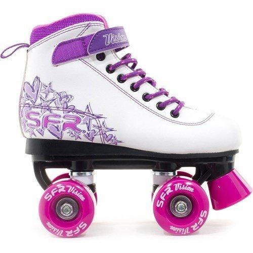 sfr-vision-ii-white-pink-kids-quad-roller-skates-uk-jnr-12-by-sfr
