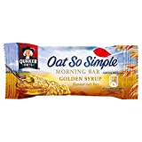 Quaker Oats Oat So Simple Morning Bar Golden Syrup Flavour 35g PMP (24 Pack)