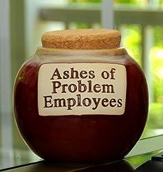 Tumbleweed 'Ashes of Problem Employees' Money Jar