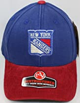 NHL New York Rangers Twill and Corduroy Retro Logo Vault DS Cap by American Needle