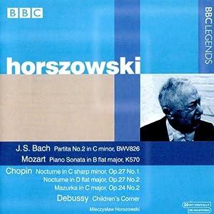 Bach : Partita S.826 - Mozart : Sonate N°16 K570 - Chopin : Nocturnes N°7...