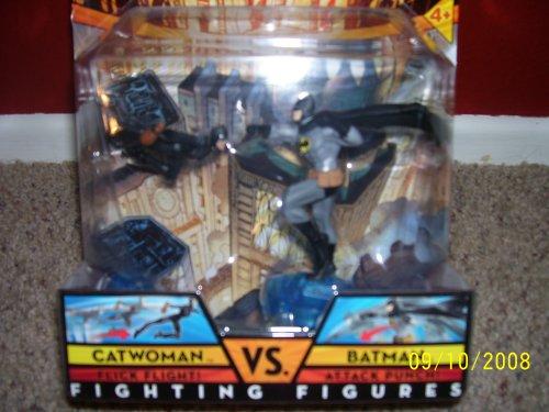 Buy Low Price Mattel DC UNIVERSE CATWOMAN vs. BATMAN FIGHTING FIGURES (B001QS0AVO)