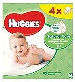 HuggiesToallitas Húmedas Para Bebés Cuidado Natural Quads 56 (Paquete de 6)