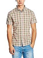 Guess Camisa Hombre (Verde / Rojo)