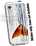 Microphone Music Decorative Sticker Decal for your iPhone 4 4S Lifeproof Case