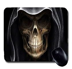 Awwsme Skull With Cap Mousepad
