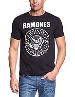 T-Shirt Ramones Noir Hey Ho Let's Go L (T-Shirt taille Large)