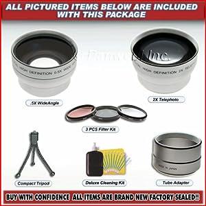 Wide Angle Telephoto Lens for Jvc Everio Jvc Camcorder