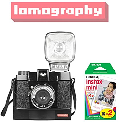 Lomography Diana F Instant Instax Mini Camera (With Fujifilm Instant Film (20 Shots))
