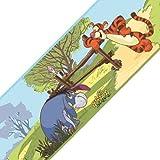 Disney Winnie Pooh Friends Set of 4 Self-Stick Wall Borders