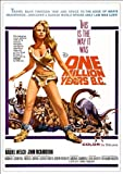 'One Million Years B.C.' - Fantastic A4 Glossy Print Taken From A Vintage Movie Poster