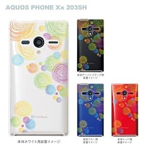 【クリックで詳細表示】【AQUOS PHONE Xx 203SH】【SoftBank】【ケース】【カバー】【スマホケース】【Clear Arts】【クリアケース】 21-203sh-ca0008rw