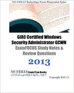 Gcwn study book