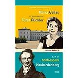 Brandenburg - das ganze Land ein Garten: Maria Callas im Spaziergang mit Fürst Pückler durch den Schlosspark Neuhardenberg...
