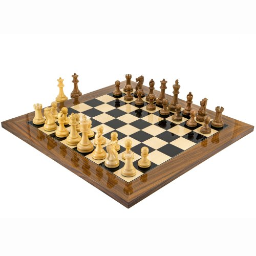 The Executive Palisander Chess Set