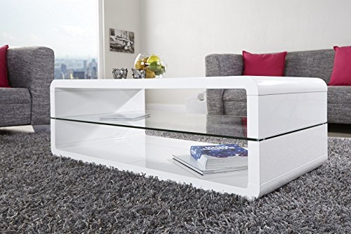 > Formula < white coffee table