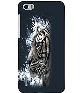 HUAWEI HONOR 6 TIGER Back Cover by PRINTSWAG