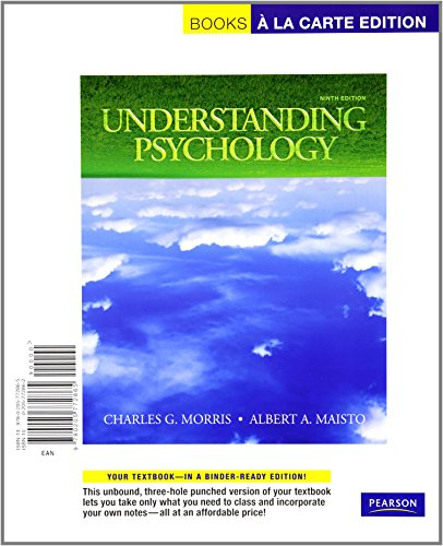 Understanding Psychology, Books a la Carte Plus MyPsychLab (9th Edition)