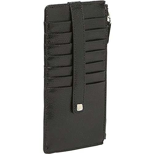 budd-leather-lizard-print-credit-card-stacker-wallet-black-onyx