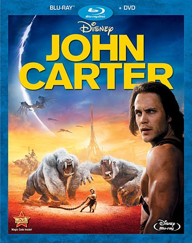 Cover art for  John Carter (Two-Disc Blu-ray/DVD Combo)