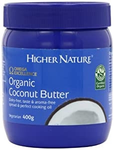 Higher Nature Omega Excellence Organic Coconut Butter - 400g Spread