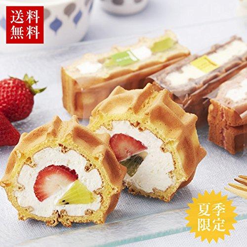 お試し 神戸ワッフルセット ( お試しセット ロールケーキ フルーツ チーズケーキ )