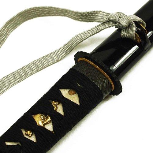 DerShogun Hamidashi Tanto mit Klinge aus 1095 Stahl, schwarz