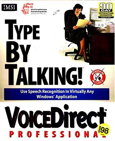 VoiceDirect Professional Talk By Typing! Speech Recognition