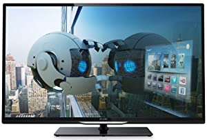 Philips 42PFL4208K/12 107 cm (42 Zoll) LED-Backlight-Fernseher, EEK A+ (Full HD, 200Hz PMR, DVB-T/C/S2, CI+, Smart TV, WiFi) schwarz