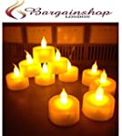 New Set of 12 LED Flickering Tealight...