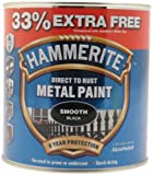 Hammerite 5158235 750ml Metal Paint - Smooth Black