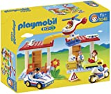 Playmobil 5046 Play Set Hospital with Paramedics and Police Officers