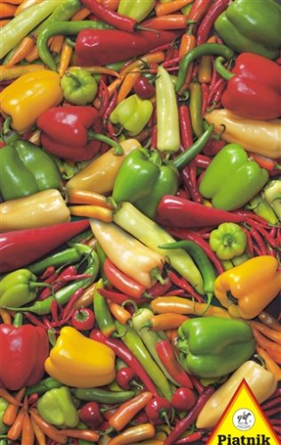 Cheap Piatnik Peppers & Chillies Jigsaw Puzzle: 1000 Pcs (B0018D6JEY)