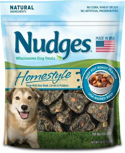 Nudges Homestyle Beef Pot Roast Wholesome Dog Treats, 18oz. by Nudges (Tyson Roast Beef compare prices)